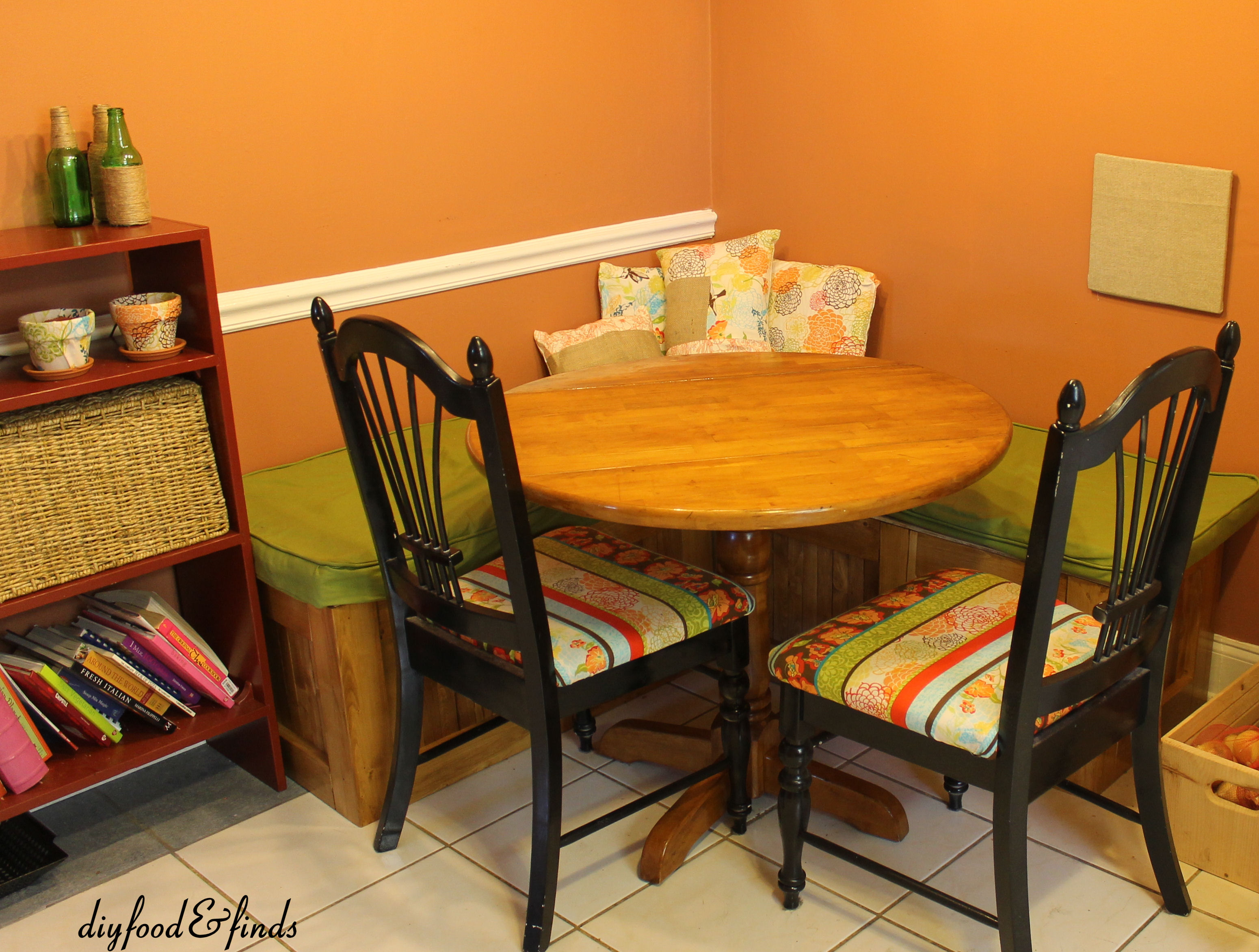 Handmade By Mindy: Crossing The Finish Line: Benches Done